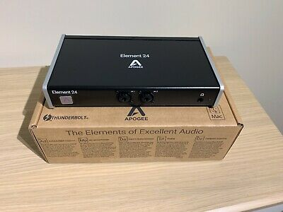 Apogee Element 24 Thunderbolt Audio Interface and Control Remote for Mac