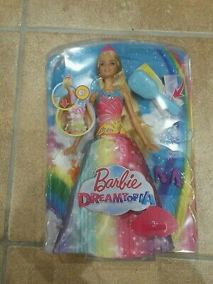 Brand New In Box - Barbie Dreamtopia - Brush And Sparkle Princess Lights  NEW