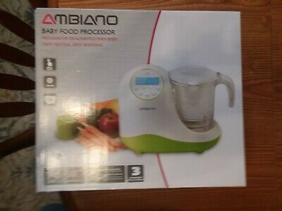 AMBIANO: BABY FOOD PROCESSOR .. New, Never Opened.  A