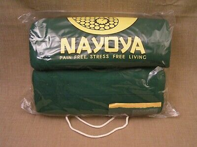 Nayoya Acupressure Mat & Pillow Set for Back & Neck Pain & Stress Relief - NIP!
