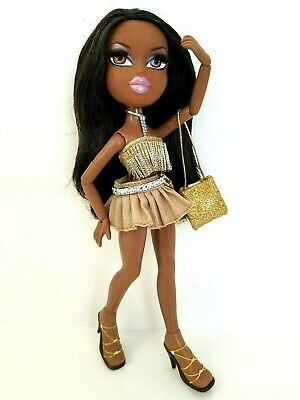 Bratz The Movie SASHA Doll 14 JOINTS REAL EYELASHES Pose Articulated EXCELLENT!