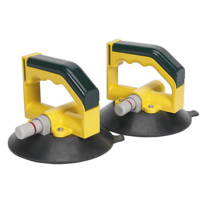 Vacuum Suction Cup 150mm - Pair - UK SEALEY STOCKIST