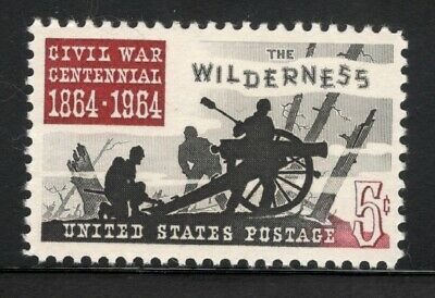 1181 Battle Of The Wilderness Single Mint/nh (Free Shipping)