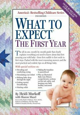 What to Expect the First Year 2nd Edition by Heidi Murkoff (2010, Paperback)