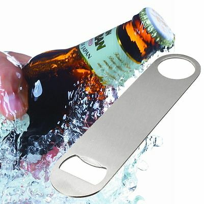 Portable Large Flat Speed Bottle Opener Stainless Steel Opener Safe Tools