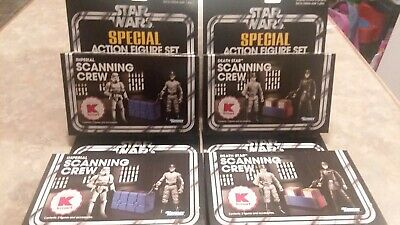 Star Wars The Vintage Collection Tvc Lot Of 4 Sealed Scanning Crew Death Star Im