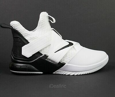 new arrival bd996 3ff0e NIKE LEBRON SOLDIER 12 XII Oreo White Basketball Shoes AT3872-101 Men's  size 12
