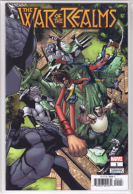 WAR OF THE REALMS #1 Humberto Ramos International VARIANT Cover M Over-Sized NM