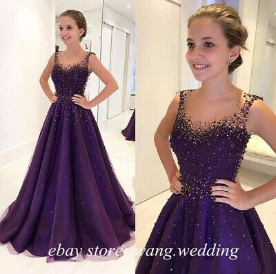Sparkle Sequined Beaded Prom Dresses Sheer Evening Quinceanera Formal Party Gown