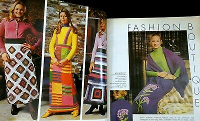 McCall's Needlework Magazine FW 1972-'73 Crochet Patterns Barbie Coll Clothes