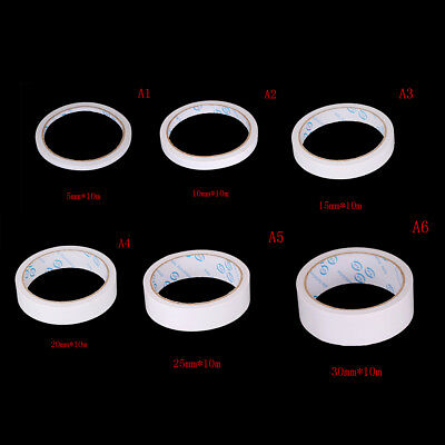 2PCS Thin Double Side Sided Mounting Tape Strong Adhesive jf