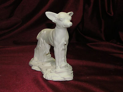 Ceramic Bisque Chihuahua Dog on a Rock Base U-Paint ~ Ready to Paint