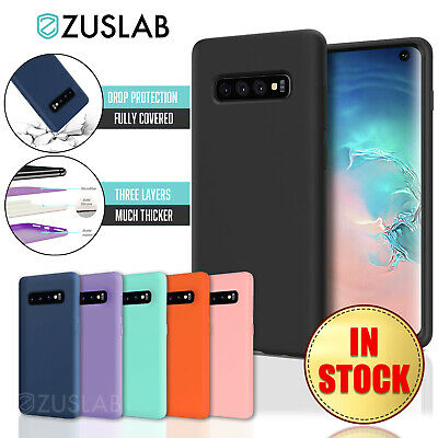 For Samsung Galaxy S10 5G S10E Plus S9 S8 Plus ZUSLAB Soft Silicone Case Cover