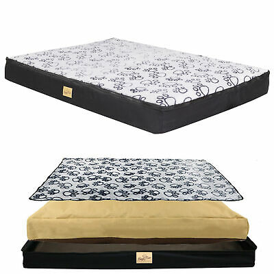 3 IN 1 Orthopedic Extra Large Dog Mattress Pet Puppy Bed Water Repellent Cushion