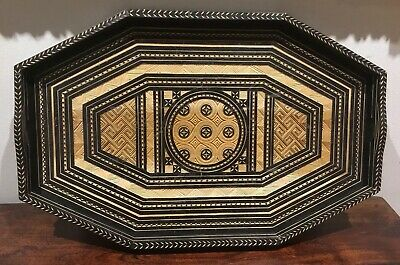Fantastic Carved Wooden Tray Great Decorative Piece