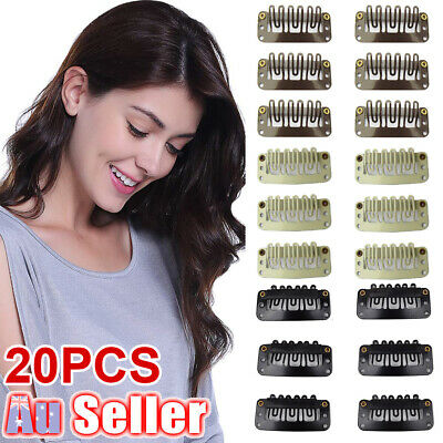 Brand New Snap Clips Hair Extension/Weft For 32MM 20