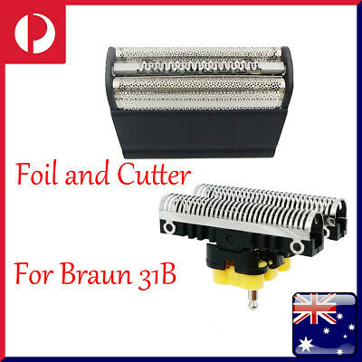 Replacement Shaver Shaving Head Foil and Cutter Blades Fit For Braun 31B Series