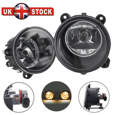 1 Pair Front Fog Light Lamps For Land Rover Discovery 2 3 RANGE ROVER Sport L322