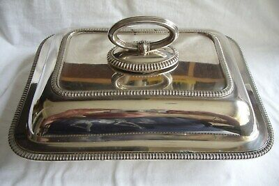 Vintage Mappin & Webb Silver Plated Tureen.