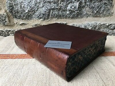A Unusual Leather Deed Box in the Form of a Book
