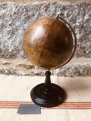 A Victorian 8 inch Terrestrial Globe by Phillips