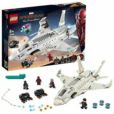 LEGO 76130 Marvel Stark Jet and the Drone Attack Building Activity Set Kids Toy