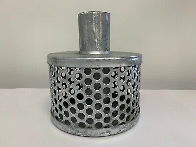 Tin Can x Hose Tail Strainer For Suction Hose Hot-Dip Galvanised  WILL NOT RUST