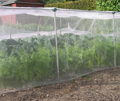1.8M Wide Insect Netting Mesh Various Lengths - Protect Plants,Crops,Fruit & Veg