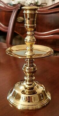 """WILLIAMSBURG """"MID-DRIP"""" CANDLESTICK CW16-12 by VIRGINIA METALCRAFTERS"""