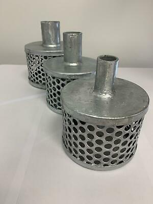 Bauer & Tin Can Strainers For Suction Hose Hot-Dip Galvanised  WILL NOT RUST