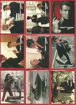 Trading Cards - Inkworks - James Bond 'The World Is Not Enough' 90 Cards  (Nf01)