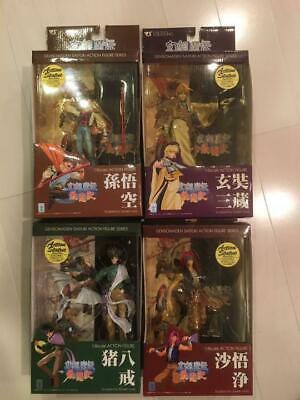 Volks Gensoumaden Saiyuki Figure Lot of 4 Anime From JAPAN