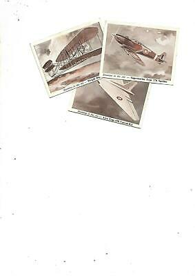 Stamina Cards...Aircraft...Antique...Collectable