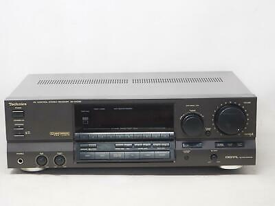 TECHNICS SA-GX330 A/V Control Stereo Receiver Works Great! Free Shipping!