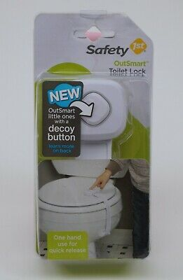 Safety 1st Outsmart Toilet Lock New