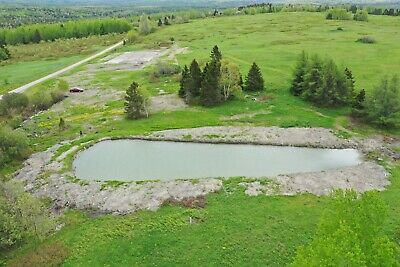 ***Own 9.2+/- Acres In Northern Maine Next To The Canadian Border***