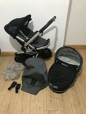 Quinny Buzz Pushchair With Carrycot/pram
