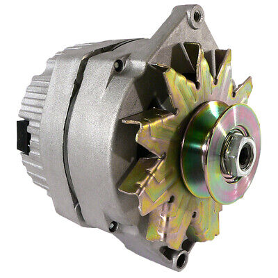 New 1 Wire 63Amp Alternator Fits Ford Late Model 8N Previously Converted Akt0004
