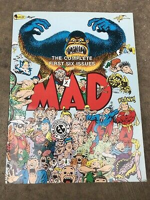The Complete First Six Issues Of MAD Magazine