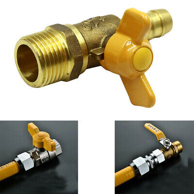 Natural Gas Stove Accessories Kitchen Switch  ball valve Knob Locks Oven Q
