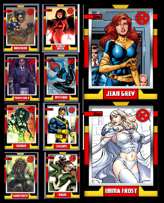 Topps Marvel Collect Card Trader X-Universe Series 2 - Set 10 Cards  [Digital]