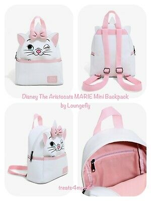 NWT! Loungefly Disney The Aristocats Marie Mini Backpack