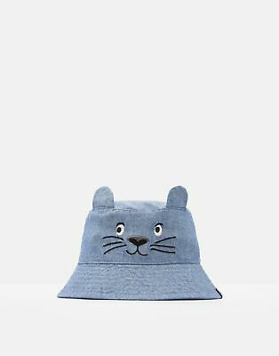 Joules Baby Mattie Character Hat in BLUE OTTER