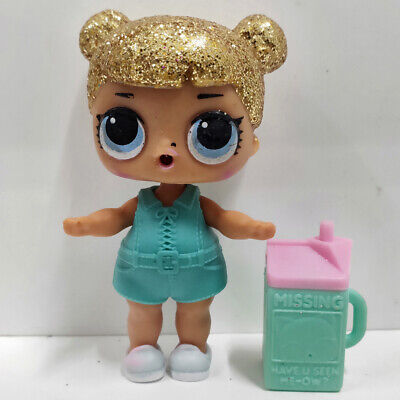 lol doll Big Sister Series Glitter Gold Hair Blue Dress Kids Birthday Gift Cute