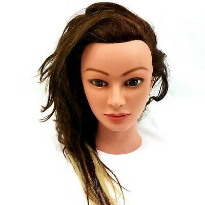 Marianna Miss Suzie Kin 14901 Mannequin Head Cosmetology Brown + Blonde Hair