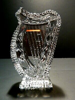 "*VINTAGE* Waterford Crystal HARP Paper Weight 5"" Made in IRELAND"