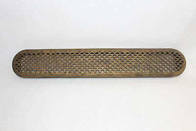 "Antique/Vintage Cast Iron/Steel Floor Grate 36""x6""x2.5"" Uncommon size"
