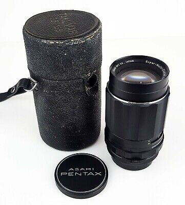 ***ASAHI PENTAX SUPER-TAKUMAR 135mm F/3.5 M42 SCREW MOUNT PORTRAIT LENS***