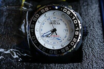 Invicta Men's 52mm Pro Diver Sea Monster Automatic Silicone Strap Watch No.28783