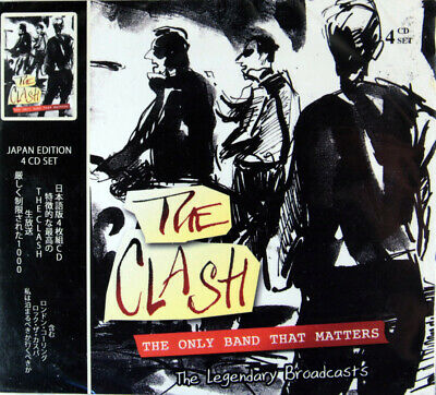 The Clash - The Only Band That Matters: The Legendary Broadcasts (4 CD Set) New